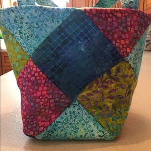 Handbags - Quilted tote bag
